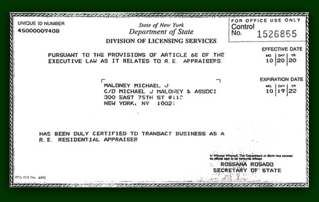 Brokers License